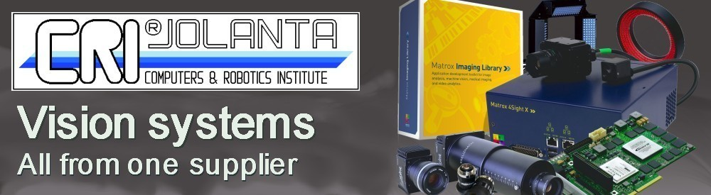 CRI JOLANTA - Distributor of machine vision components